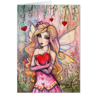 Valentine's Day Fairy Card by Molly Harrison