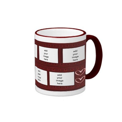 Valentine's Day Filmstrip Mug