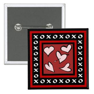 Valentine's Day Flair Button