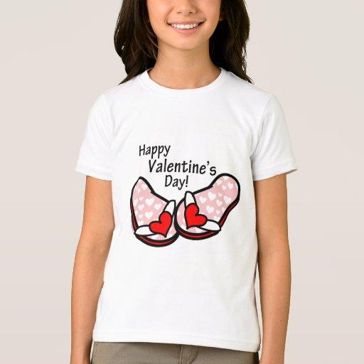 Valentine's Day Flip Flops T-Shirt