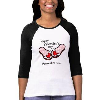 Valentine's Day Flip Flops Tshirt
