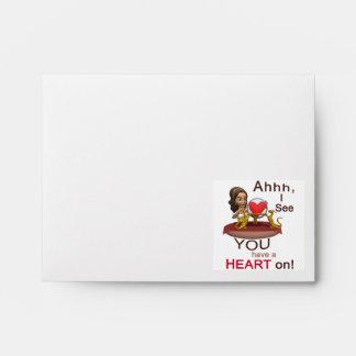 Valentines Day Fortune Teller Envelopes