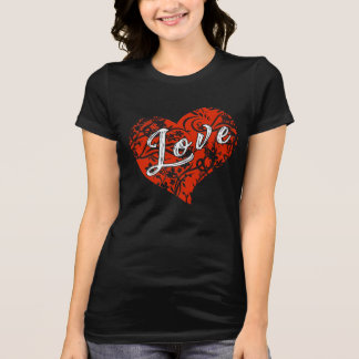 Valentine's Day Funny Gift Heart of Love T-shirt
