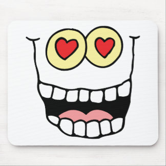 Valentine's Day Funny Hearts Mousepads
