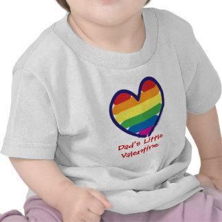 Valentine's Day Gay Pride Tee Shirts