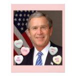 Valentine's Day George Bush Invitations