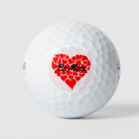 Valentine's Day Gift Golf Balls For Him