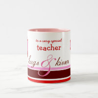 Valentine's Day Gift Mug for Teacher or Coach