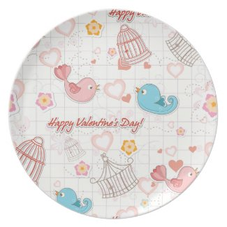 Valentine's Day Gift plate