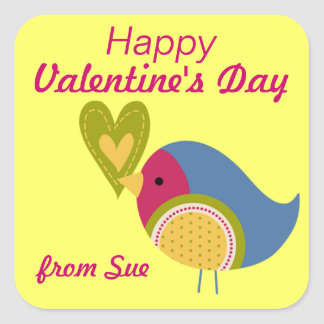 Valentine's Day Gift Stickers