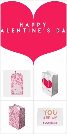 Valentine's Day: gift wrappings & tags