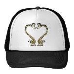 Valentine's Day Giraffee Heart Hat