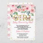 Valentine's Day Girl Baby Shower By Mail Pandemic Invitation