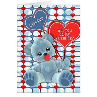 VALENTINE'S DAY - GRANDMA - FROM BABY GREETING CARD