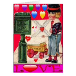 VALENTINES DAY GREETING CARDS - 1901 HISTORICAL