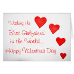Valentines Day Greetings Card