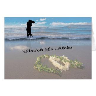 Valentines Day - Happy Love Day - Hau'oli La Aloha Card