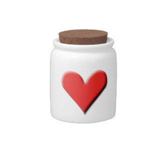 Valentine's Day Heart Candy Dish
