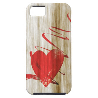 Valentines day heart phone more hover iPhone SE/5/5s case