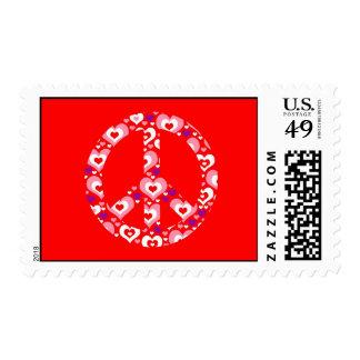Valentine's Day Heart Postage Stamp