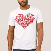 Valentine's Day Heart T-Shirt