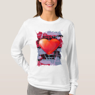 valentines day heart T-Shirt