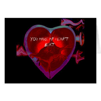 Valentine's Day Heartbeat Card