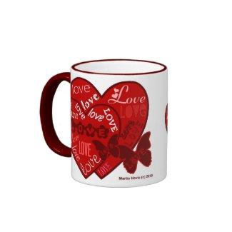 Valentine's Day Hearts & Love Mug (2) mug
