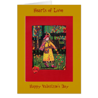 Valentine's Day....Hearts of Love Card