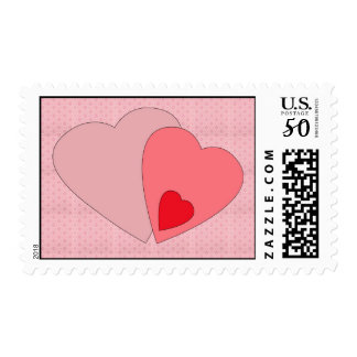 Valentines Day Hearts Stamps