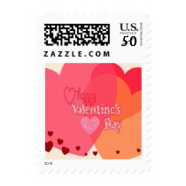 Valentine's Day Hearts Stamps