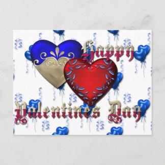 Valentine's Day Holiday Postcard
