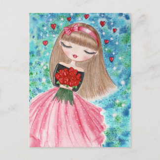"""Valentine's Day"" Holiday Postcard"