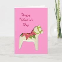 Valentine's Day Horse Card