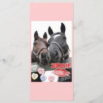 Valentine's Day Horses