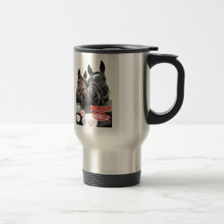 Valentine's Day Horses Coffee Mugs