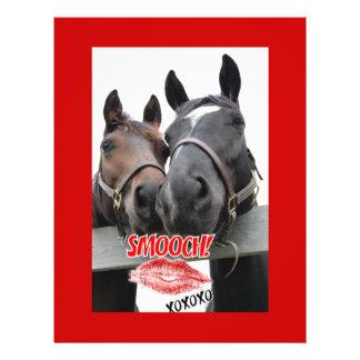 Valentine's Day Horses Flyer