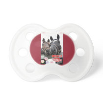Valentine's Day Horses Pacifier