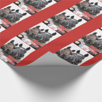 Valentine's Day Horses Wrapping Paper