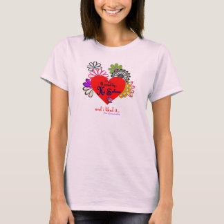 Valentine's Day Hot Sahara Top!  Heart & Flowers T-Shirt