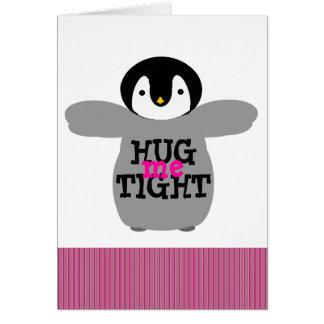 Valentine's Day Hug Me Tight Love Card