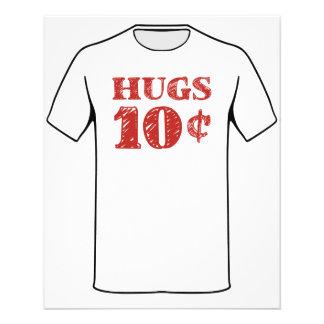 Valentine's Day Hugs 10 Cents Flyer