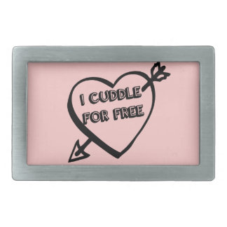 Valentine's Day  - I Cuddle for Free Belt Buckles