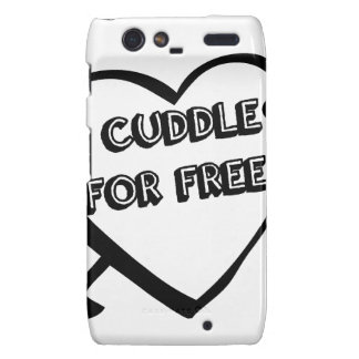 Valentine's Day  - I Cuddle for Free Droid RAZR Covers