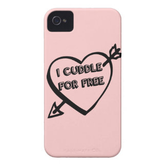 Valentine's Day  - I Cuddle for Free iPhone 4 Case-Mate Case