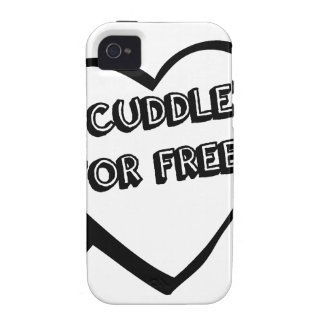 Valentine's Day  - I Cuddle for Free Case-Mate iPhone 4 Cases