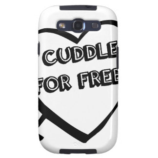 Valentine's Day  - I Cuddle for Free Samsung Galaxy SIII Case