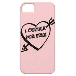 Valentine's Day  - I Cuddle for Free iPhone 5 Cover