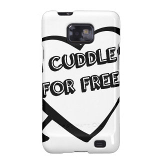 Valentine's Day  - I Cuddle for Free Galaxy S2 Cases