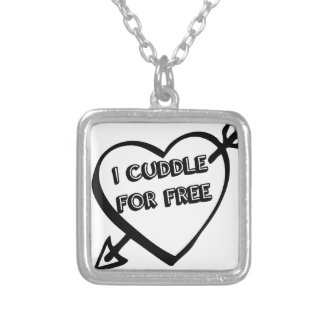 Valentine's Day  - I Cuddle for Free Pendants